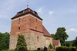 Spätromanische Kirche Bellin