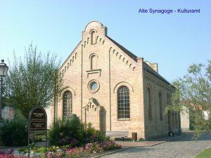 Ehemalige Synagoge in Krakow am See